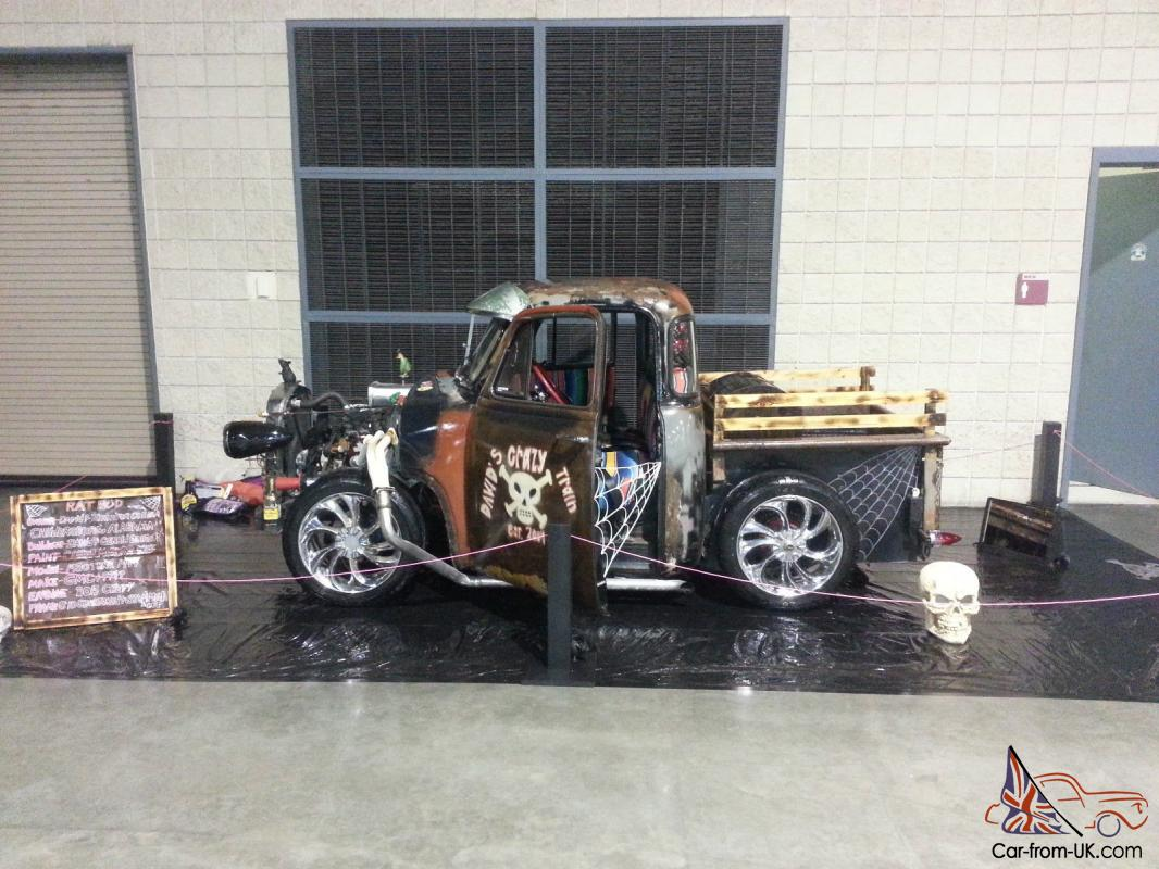53 chevy rat rod pickup truck. Black Bedroom Furniture Sets. Home Design Ideas