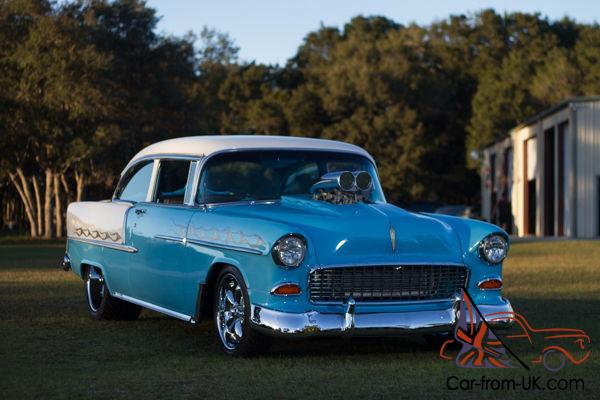 1955 Chevy Belair Pro Street Pro Touring Retro Rod Blown