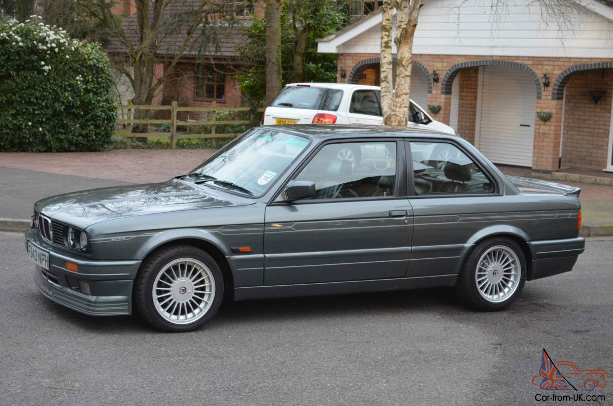 Bmw E30 Alpina C2 2 7 M3 Very Rare Motor Car