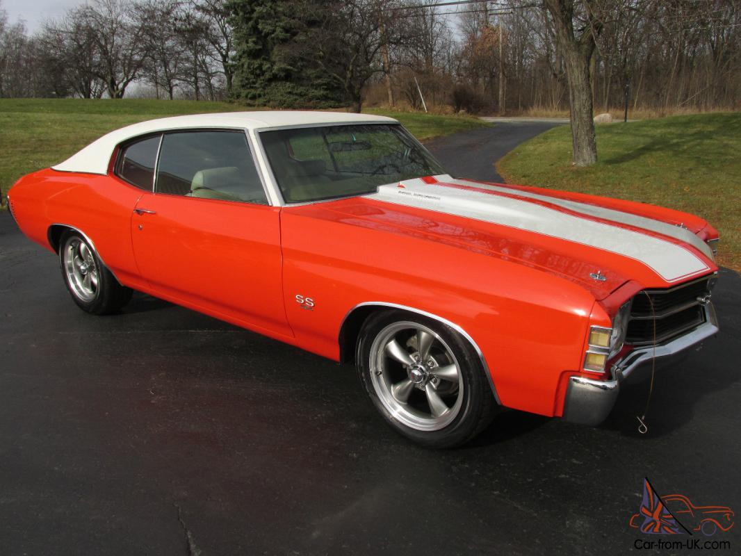 stunning 1971 chevrolet chevelle ss 454. Black Bedroom Furniture Sets. Home Design Ideas