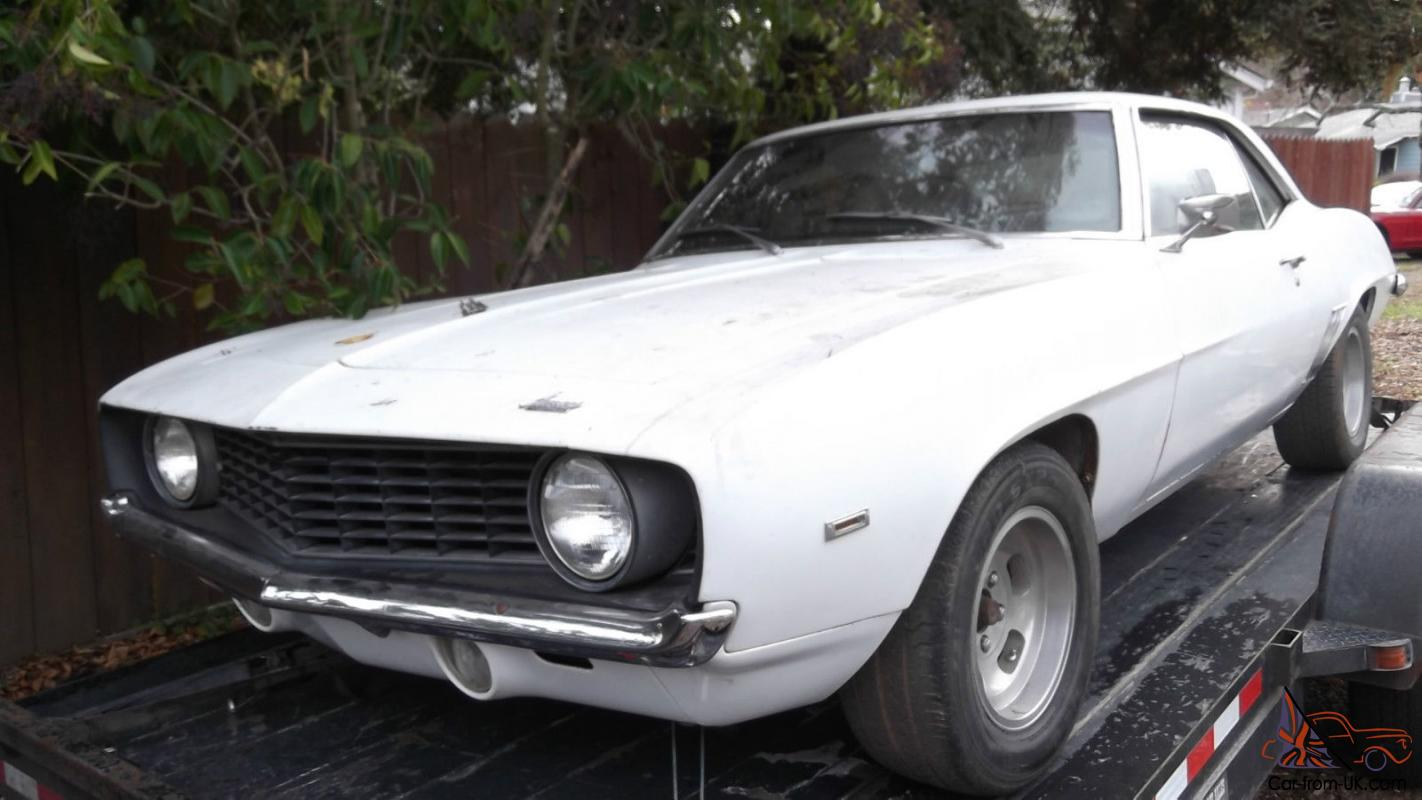 1969 camaro v8 auto no reserve original california car perfect project. Black Bedroom Furniture Sets. Home Design Ideas