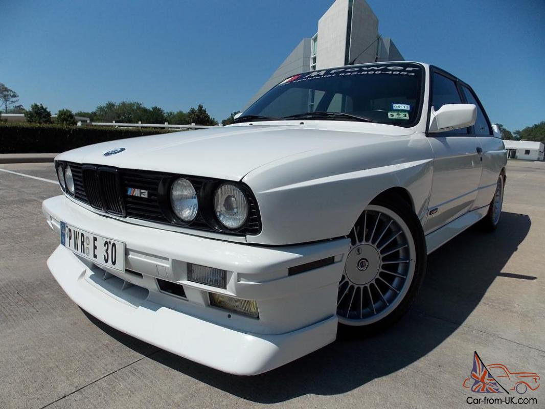 1988 bmw m3 e30 coupe very rare lots of upgrades alpina wheels alpine radio. Black Bedroom Furniture Sets. Home Design Ideas