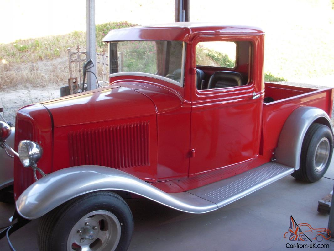 1934 ford pickup chevy engine auto trans. Black Bedroom Furniture Sets. Home Design Ideas
