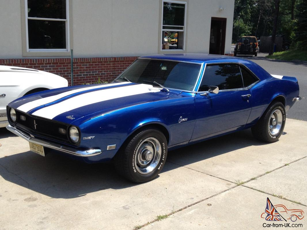 1968 Camaro For Sale Matching 327 Automatic Rallys Buckets