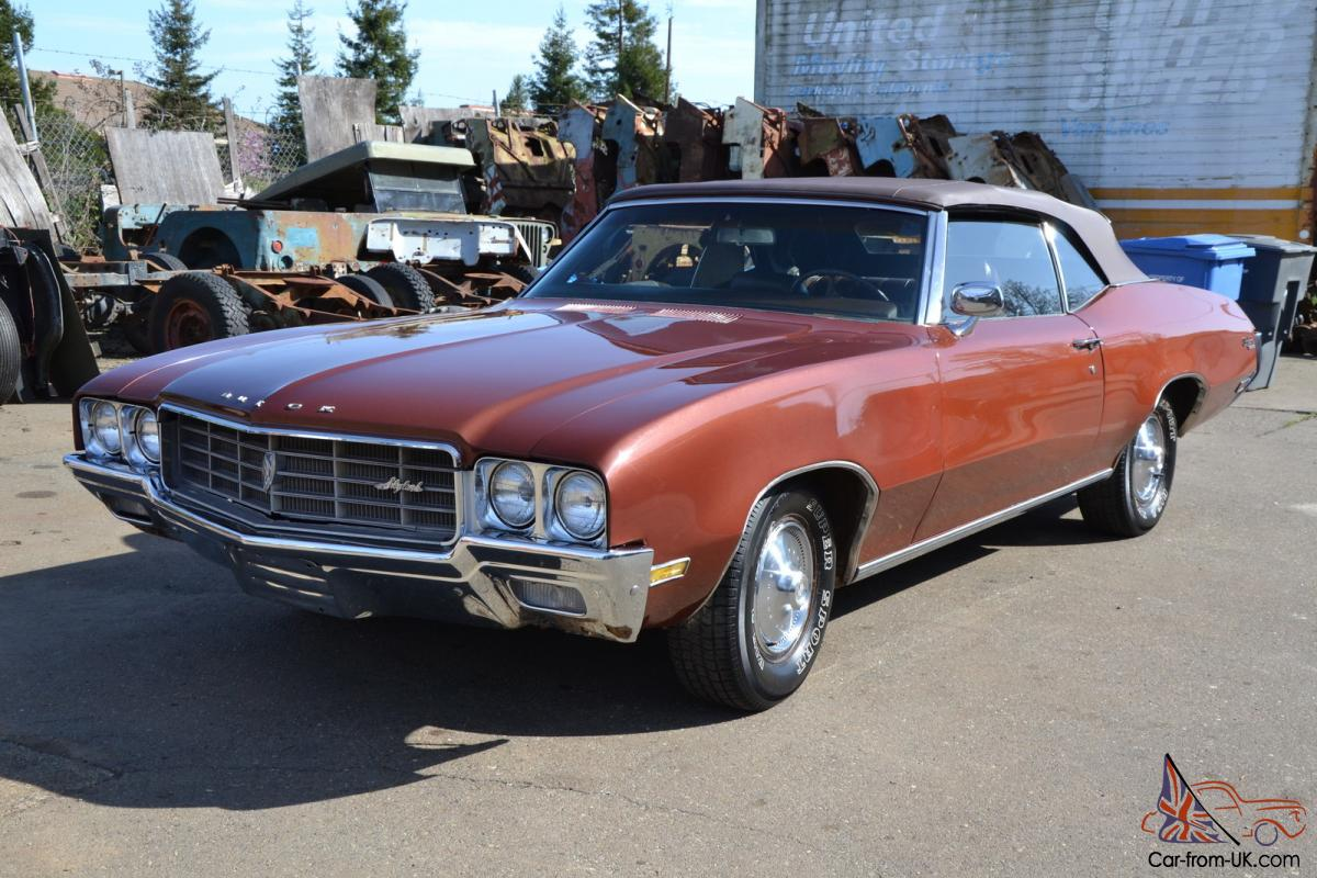 1970 buick skylark convertible great condition cruiser