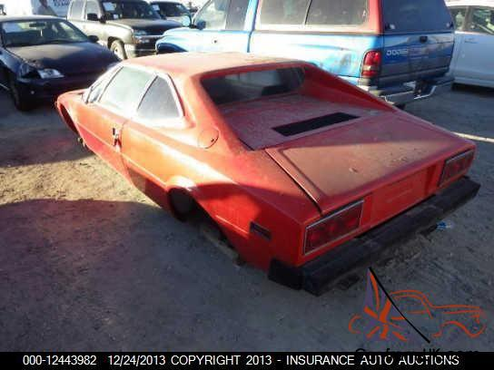 Ferrari Salvage For Sale >> 1975 Ferrari 308 GT4 Stripped Excellent Project Red on Black