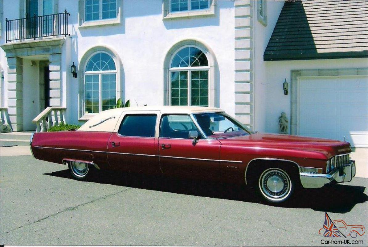 1971 Cadillac Fleetwood Factory Limo Series 75