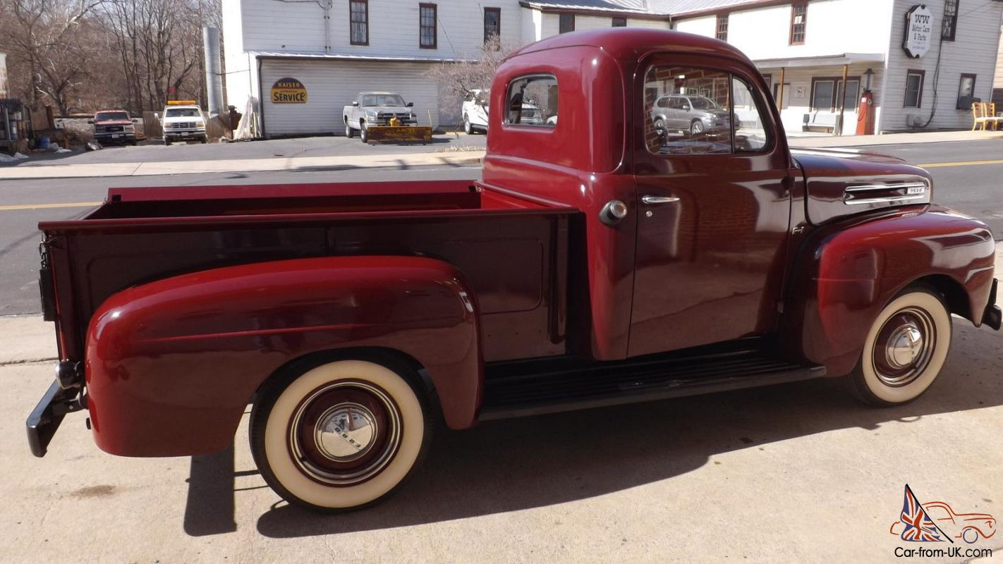1948 Ford F1 all original older frame off restoration, beautiful truck