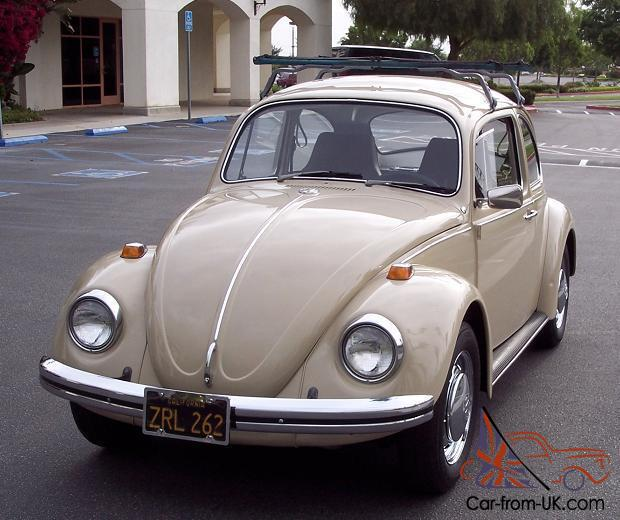 Vw 1600 Beetle For Sale: 1969 Volkswagen Bug In Very Nice Condition With *Original