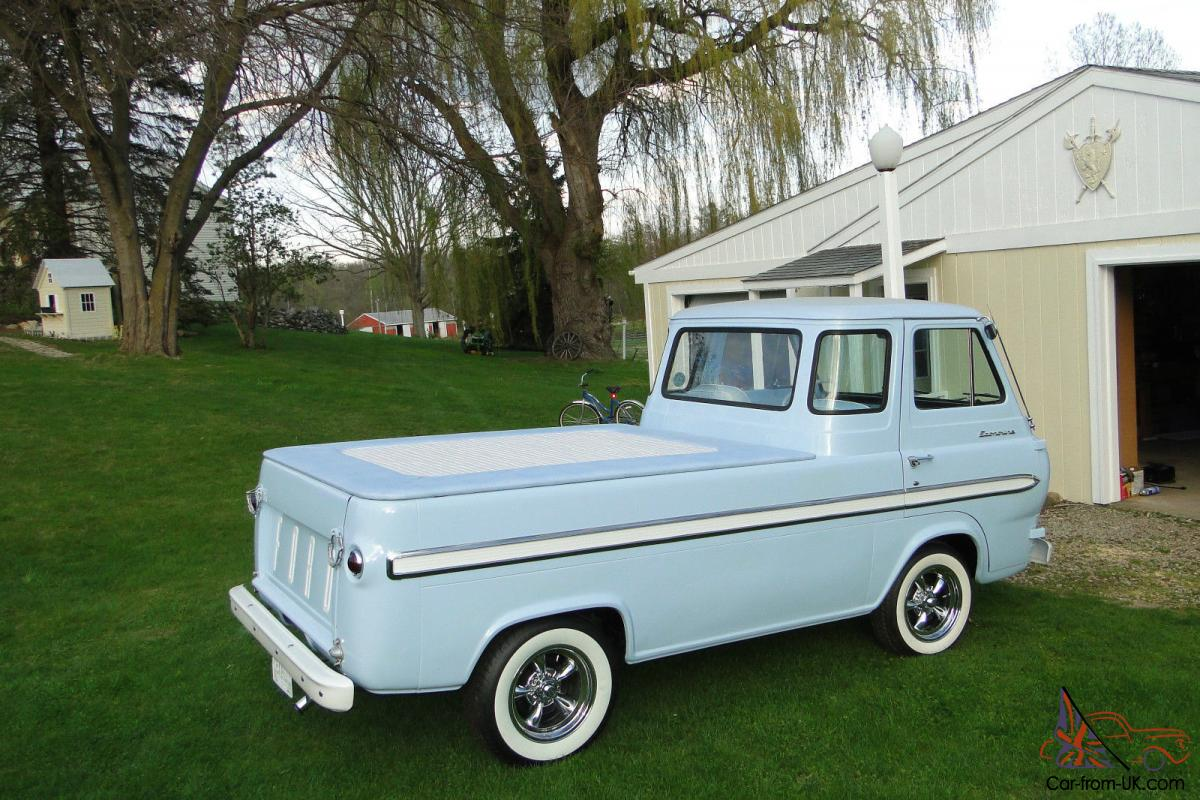 1966 Ford Econoline Pick Up 1961 Pickup Truck