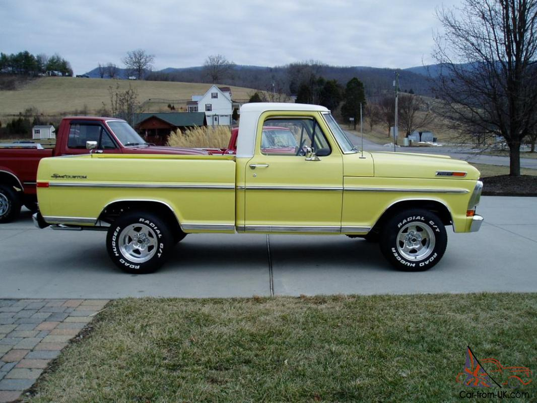 1971 ford f 100 sport custom frame off restored one of the best