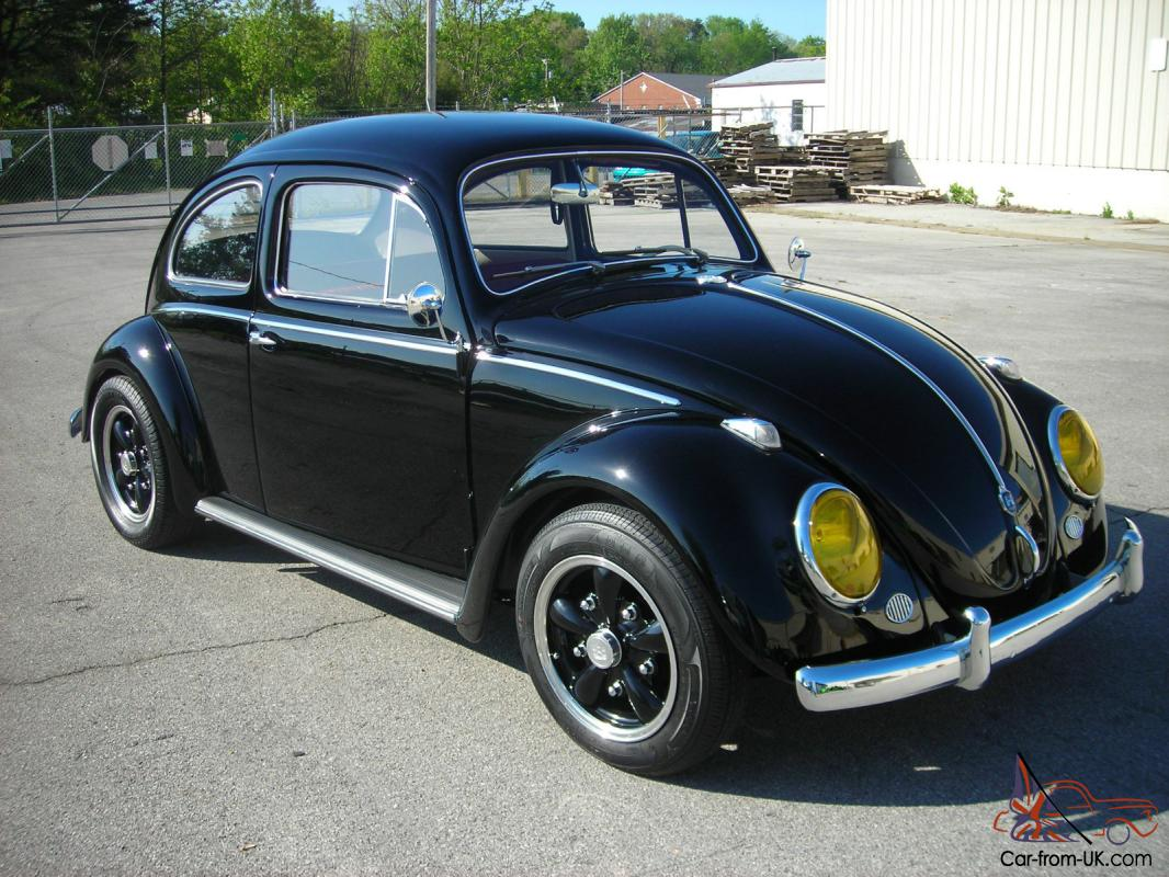 1958 Vw Beetle Completely Restored
