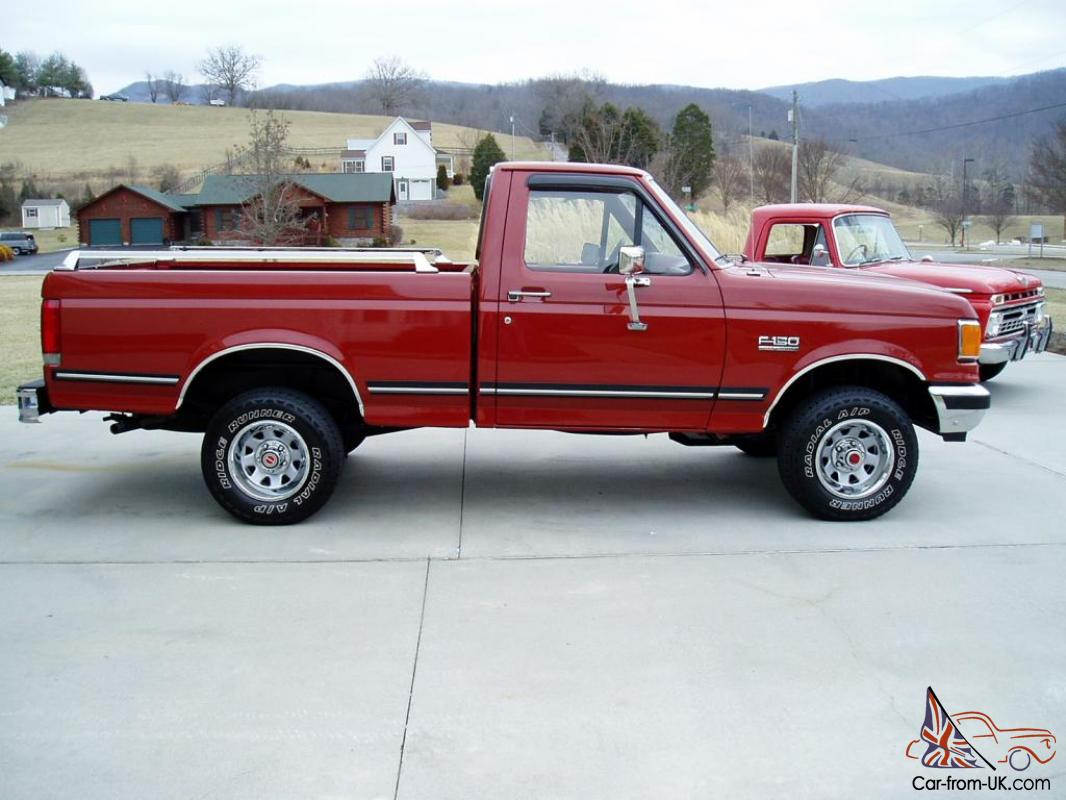 1987 ford f 150 xlt lariat 4x4 1 owner 79k actual