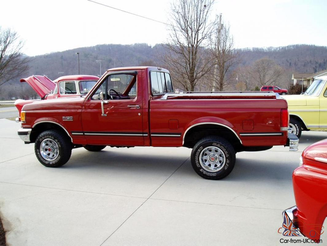1987 FORD F-150 XLT LARIAT 4X4 .. 1 OWNER .. 79K ACTUAL MILES .. MUST SEE .