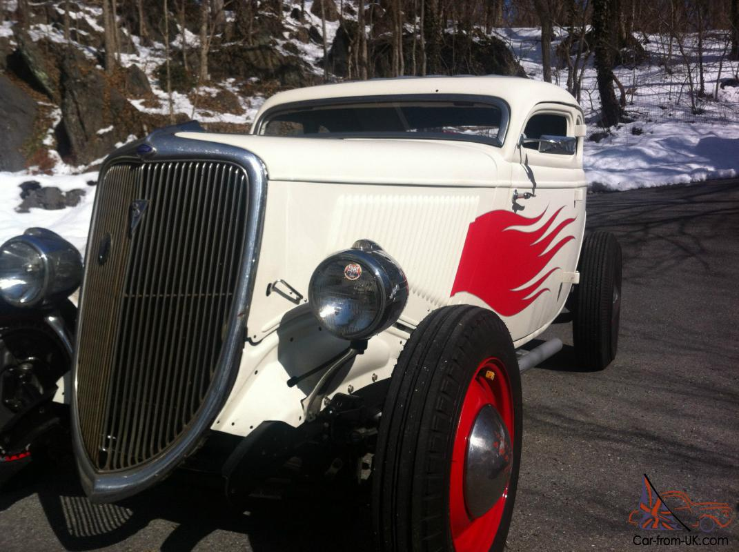 1934 Ford Coupe With Chopped Top Traditional Hot Rod