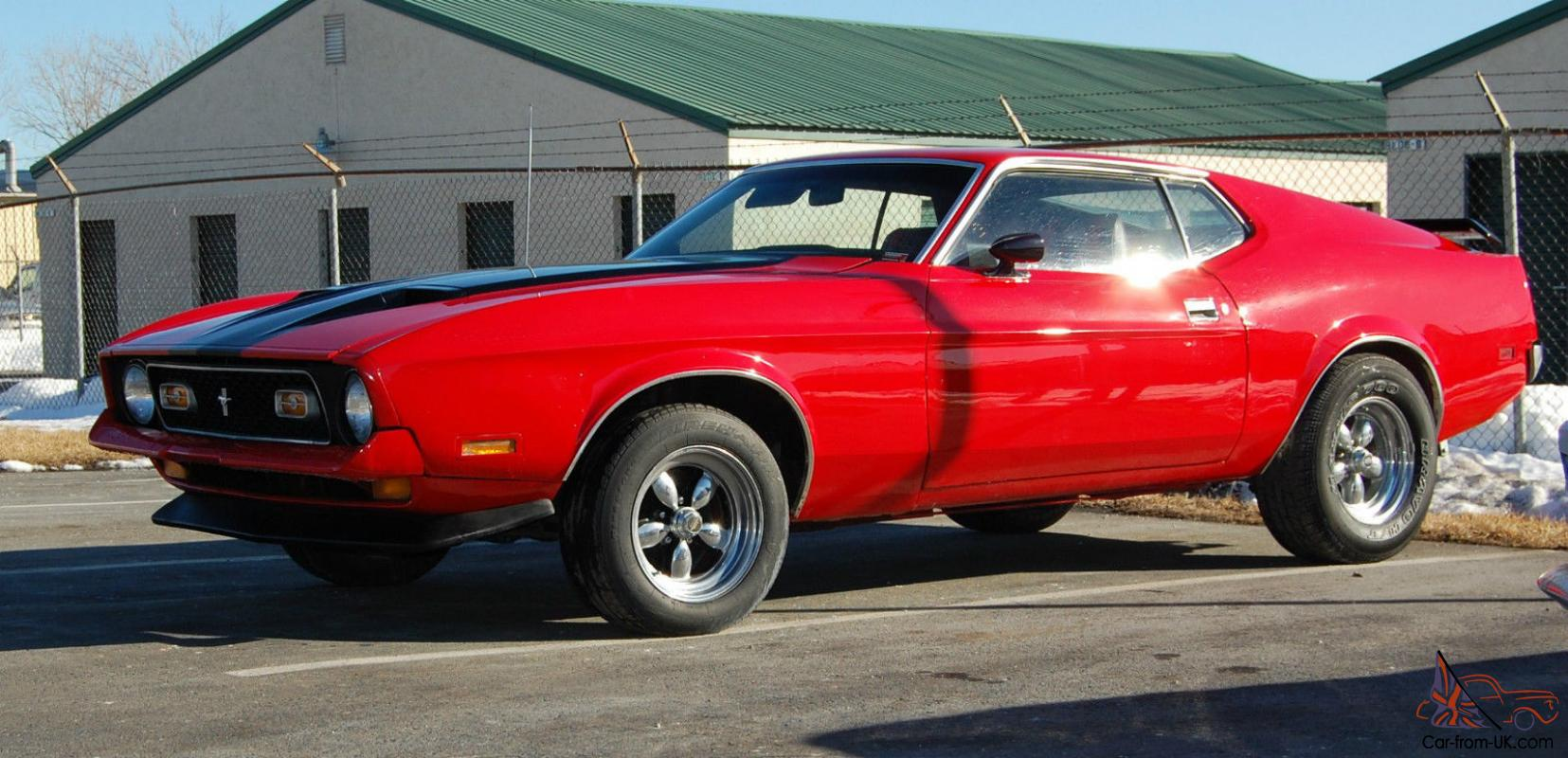 1971 Mach 1 Ford Mustang with Matching Number 351 Cleveland