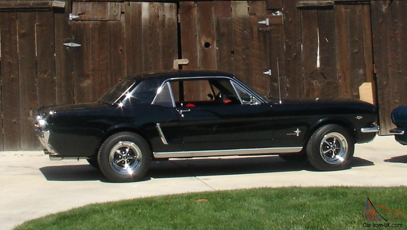 classic ford mustang 1964 1 2 fully restored. Black Bedroom Furniture Sets. Home Design Ideas