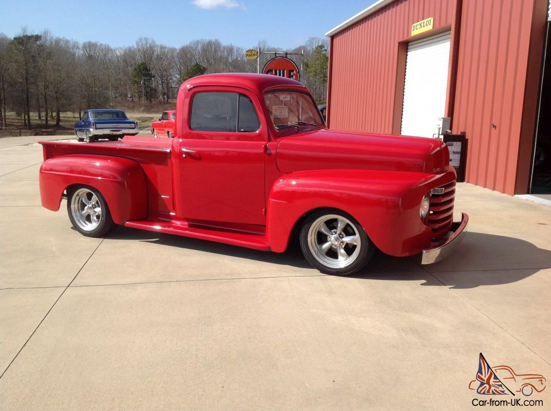1948 Ford F1 Pickup Streetrod Sweet Driver Loaded Ps Ac At