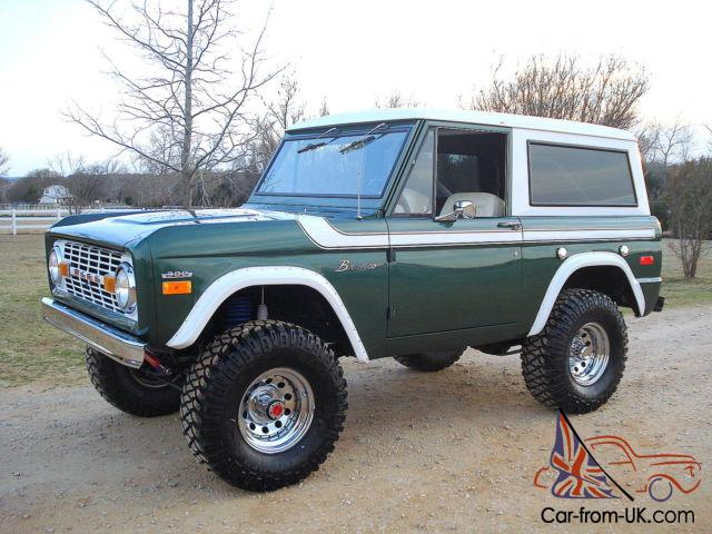 1970 ford bronco restored v8 lifted 4wd no reserve convertible. Black Bedroom Furniture Sets. Home Design Ideas