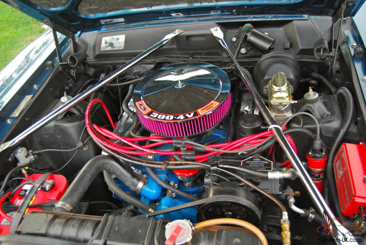 1966 ford fairlane gta convertible 390 engine real deal