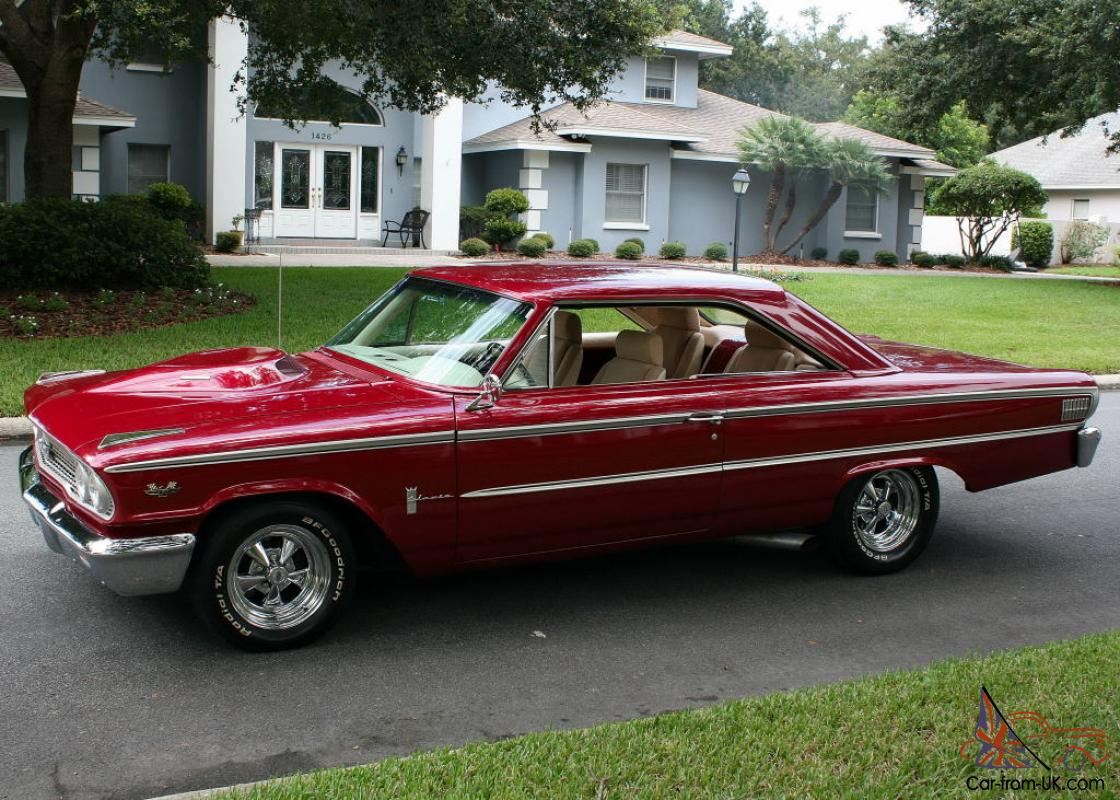 427 sohc holman moody cammer restomod 1963 1 2 ford galaxie coupe 3k mi. Black Bedroom Furniture Sets. Home Design Ideas