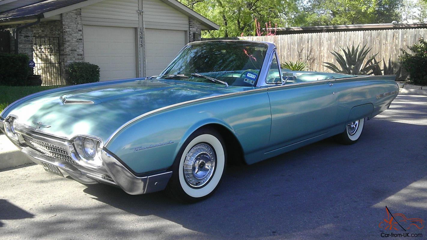 THUNDERBIRD - PARADE COUPE CONVERTIBLE TBIRD - NO RESERVE for sale