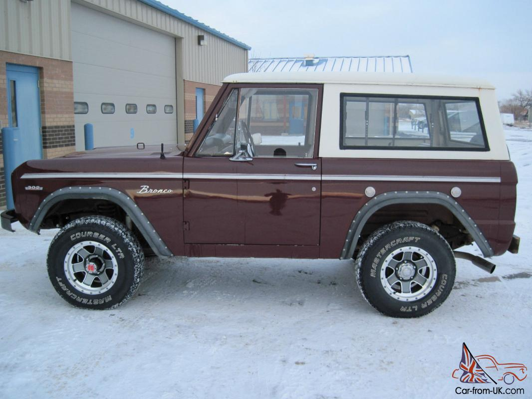 early model ford bronco for autos post. Black Bedroom Furniture Sets. Home Design Ideas