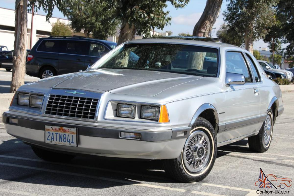 Low 15K Miles Time capsule One Owner 1983 Ford Thunderbird ...