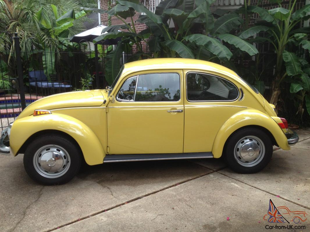72 1972 VW Volkswagen Super Beetle: Unrestored Survivor