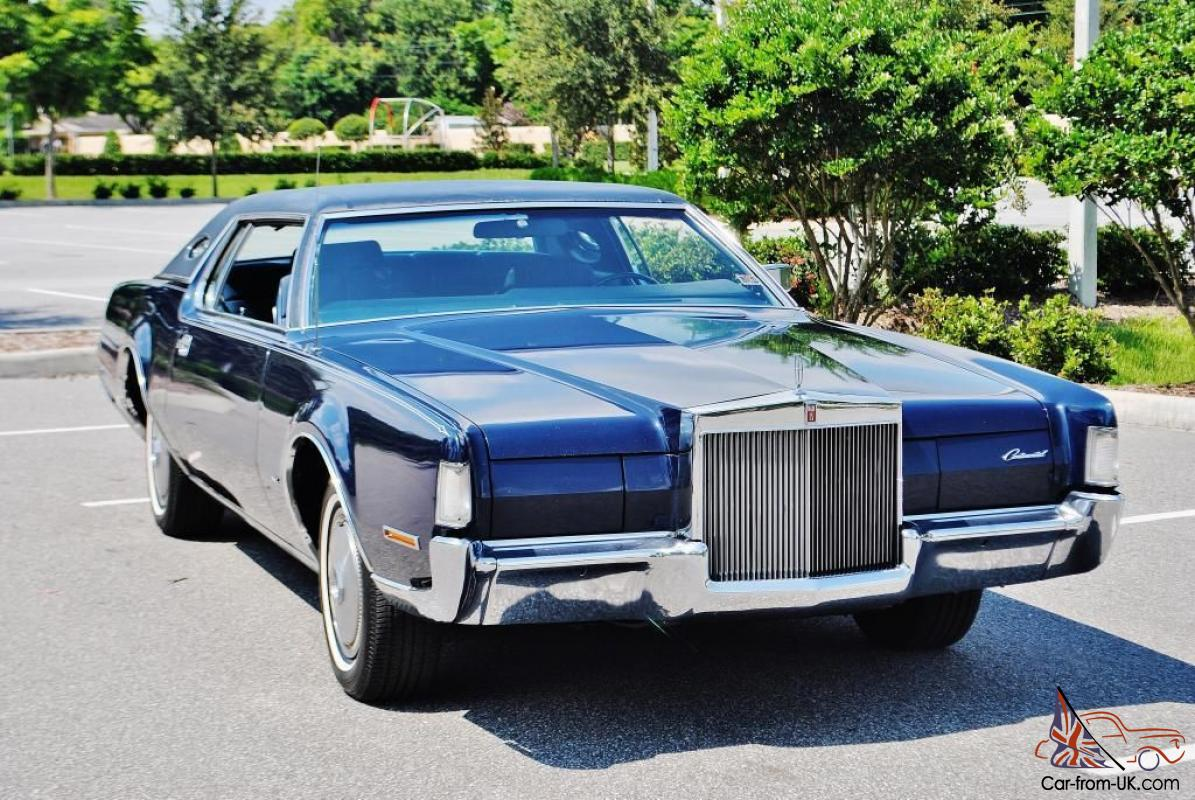 1972 lincoln mark iv coupe 48 000 original miles gorgeous for Motor mile auto sales