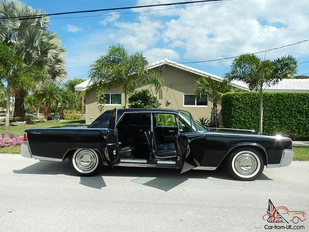 Wonderful 1964 Lincoln Continental Sedan With Suicide Doors 430CI
