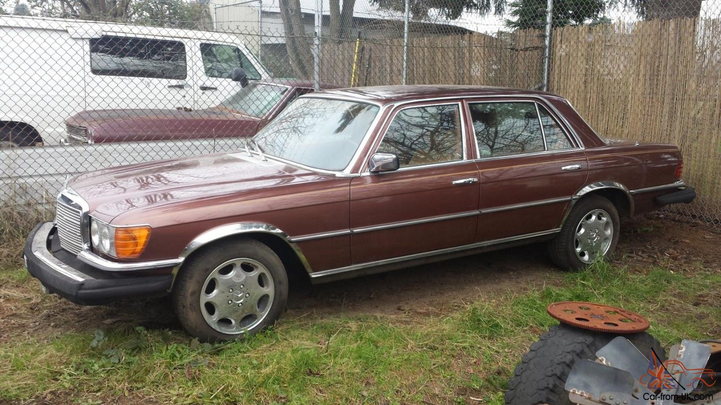 1977 Mercedes Benz 450 Sel 6 9 No Rust