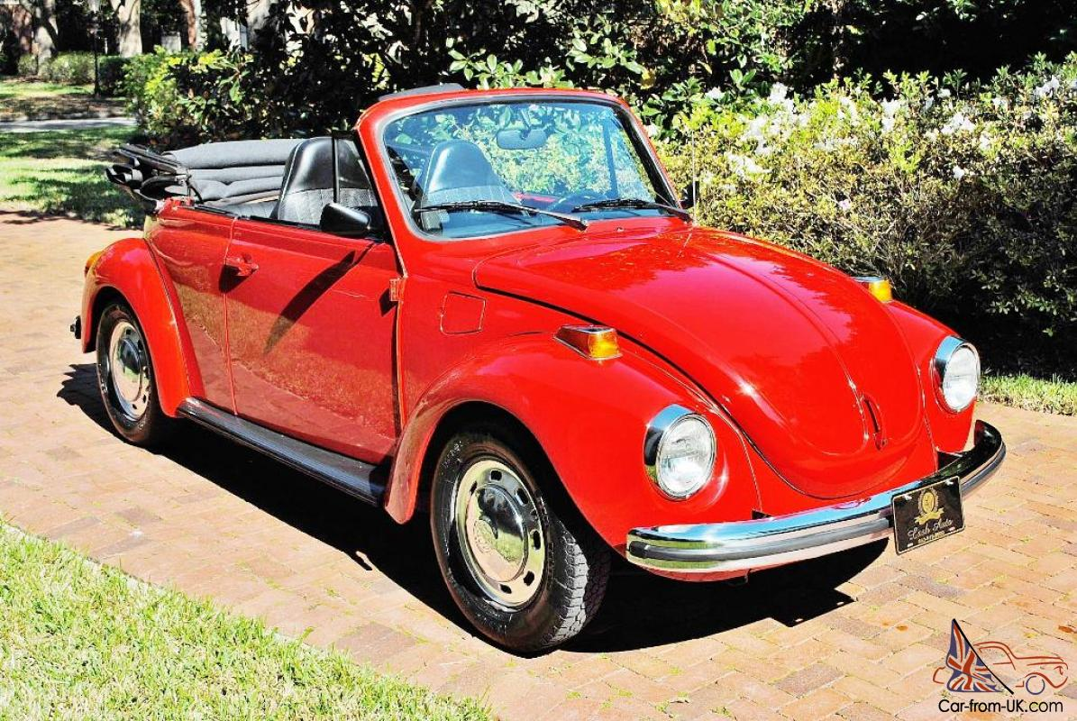 simply as new 1973 volkswagen beetle convertible 1600cc fully restored runs new. Black Bedroom Furniture Sets. Home Design Ideas