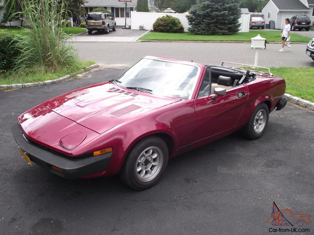 1980 Triumph Tr7 Convertible 5 Speed Great Shape