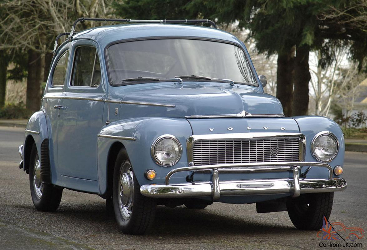 '65 Volvo PV 544 - 2 owners - B18 M40 4spd - Excellent example - Drive  anywhere!