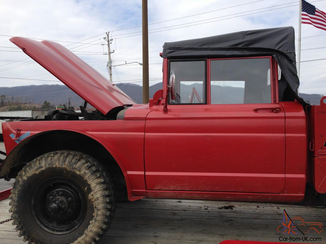 1968 KAISER JEEP M715 WITH WINCH!!!! Body in Amazing Shape before ...