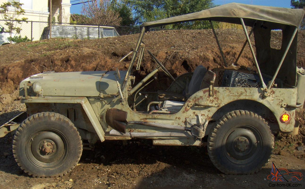 1945 willys jeep daily driver original running gear radio jeep matching numbers. Black Bedroom Furniture Sets. Home Design Ideas
