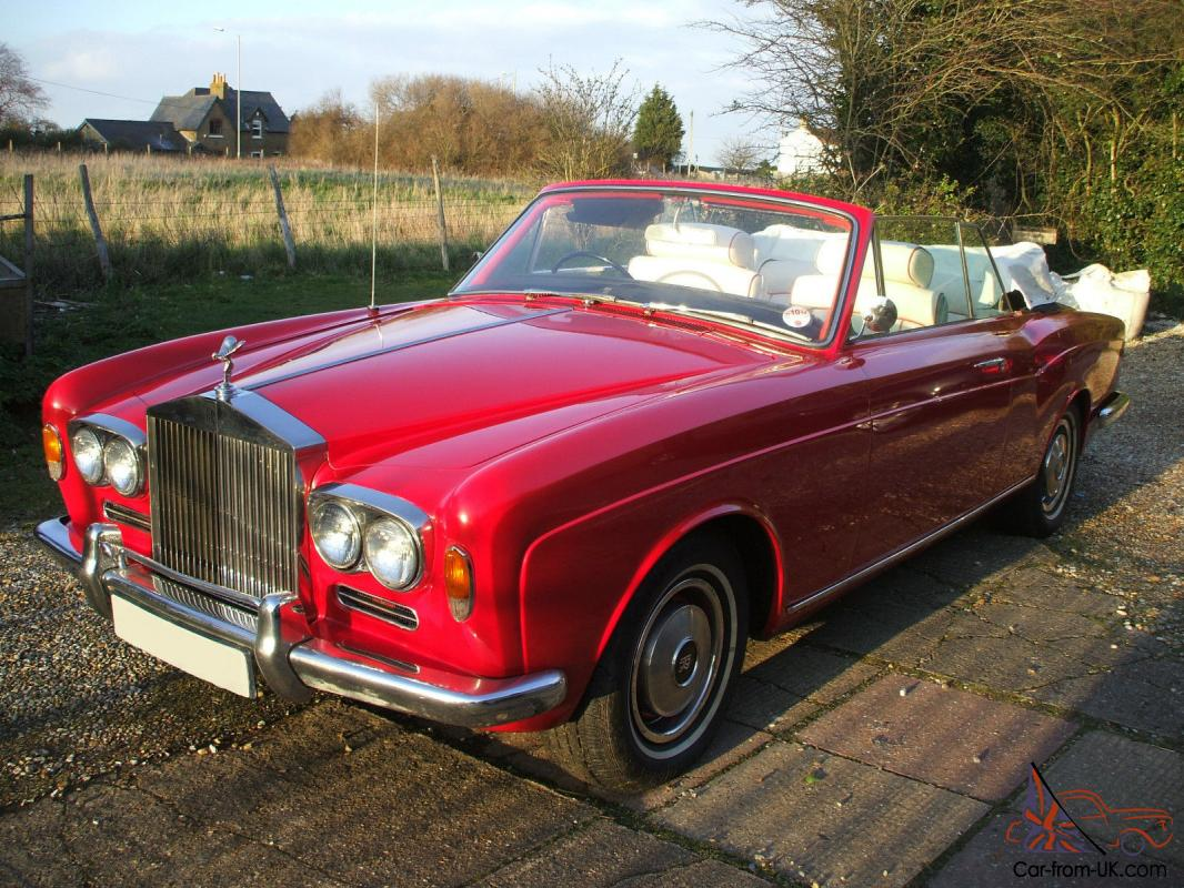 Used Cars Canterbury >> ROLLS ROYCE CORNICHE CONVERTIBLE, SHADOW DROPHEAD