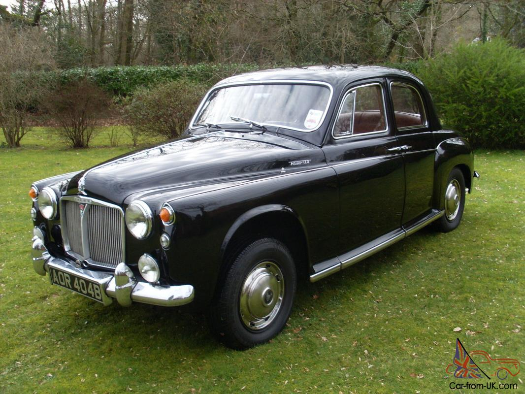 Rover P4 110 Saloon 1964 4 Speed Manual With O Drive
