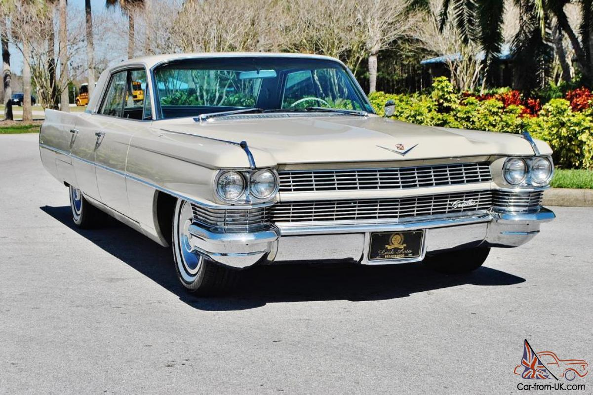 spectacular all original 63 086 miles 1964 cadillac sedan. Black Bedroom Furniture Sets. Home Design Ideas
