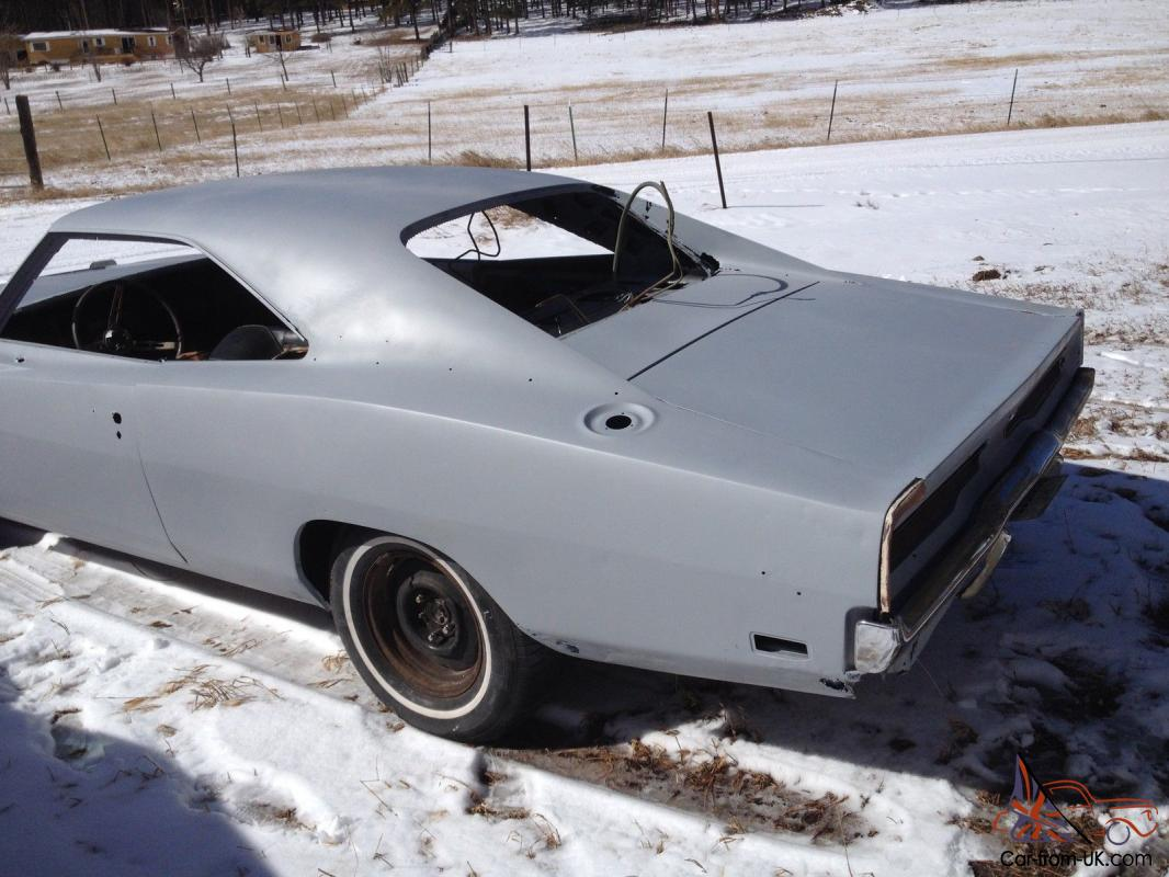1969 Dodge Charger Rt 4 Speed Car