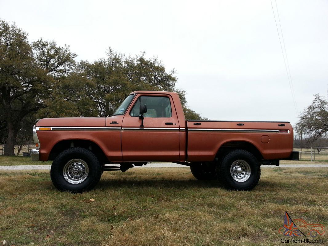 1979 Ford F150 Custom 4X4 for sale