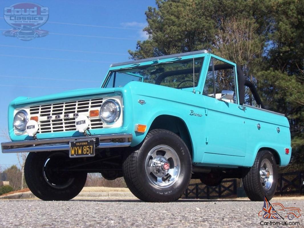gorgeous uncut original 1968 ford bronco rust free. Black Bedroom Furniture Sets. Home Design Ideas
