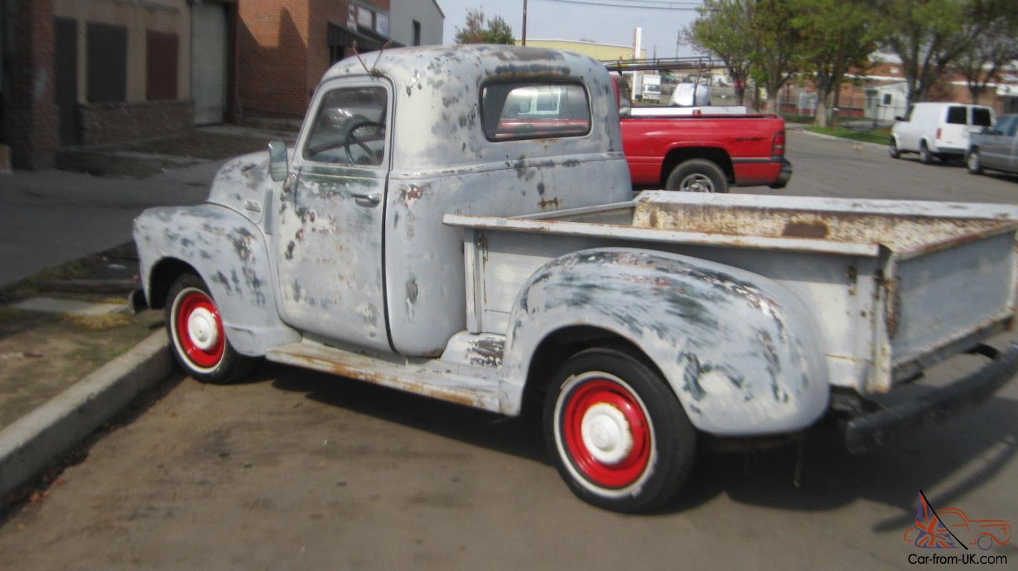 1948 1949 Gmc Truck Shortbed 1 2 Ton Solid California Metal Chevy Vin Decoder Ratrod