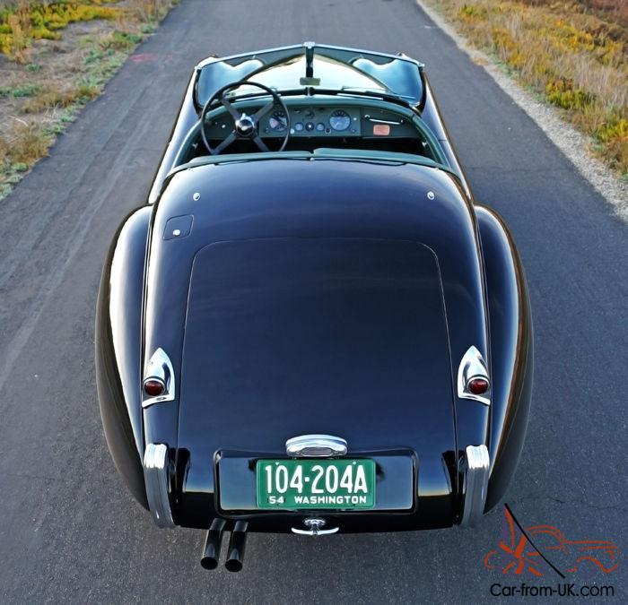 1954 Jaguar Xk140: 1954 Jaguar XK120 SE OTS: Gorgeous, Mechanically Strong