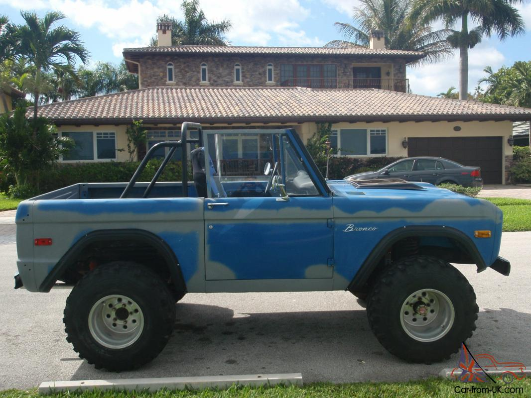 Classic Ford Bronco For Sale