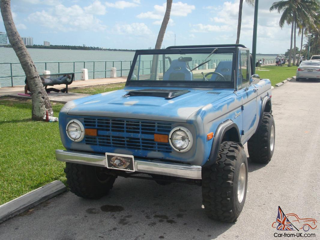 1973 FORD BRONCO ORIGINAL PAINT OFFROAD CLASSIC VINTAGE SUV TRUCK JEEP