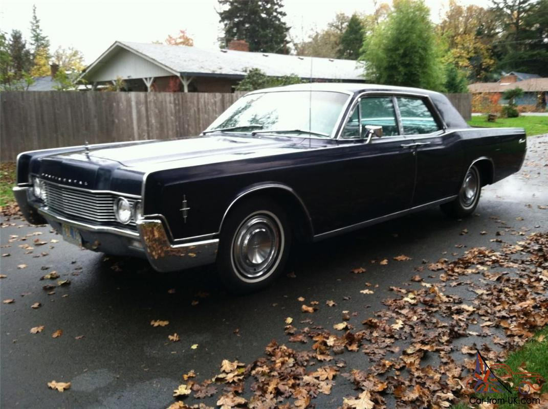 1966 lincoln continental base 7 6l one owner 45 years. Black Bedroom Furniture Sets. Home Design Ideas