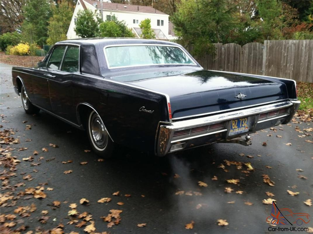 1966 lincoln continental base 7 6l one owner 45 years 90 000 miles genuine. Black Bedroom Furniture Sets. Home Design Ideas