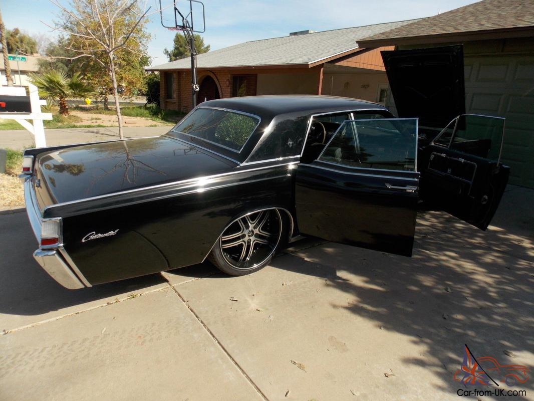 Nice 1969 LINCOLN CONTINENTAL SUICIDE DOORS